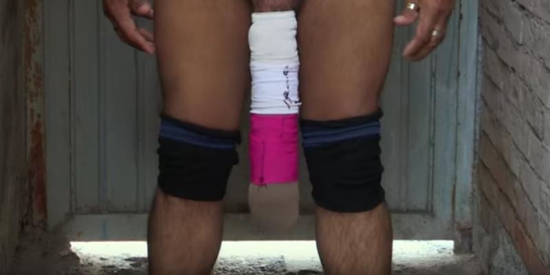 erigierter mann porno