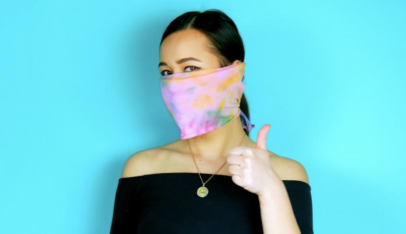 No-Sew DIY Face Mask 1
